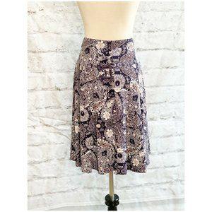 Cynthia Rowley A Line Pull Up Mini Skirt